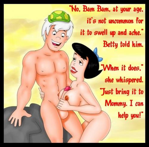 Bam bam fucking pebbles cartoon porn